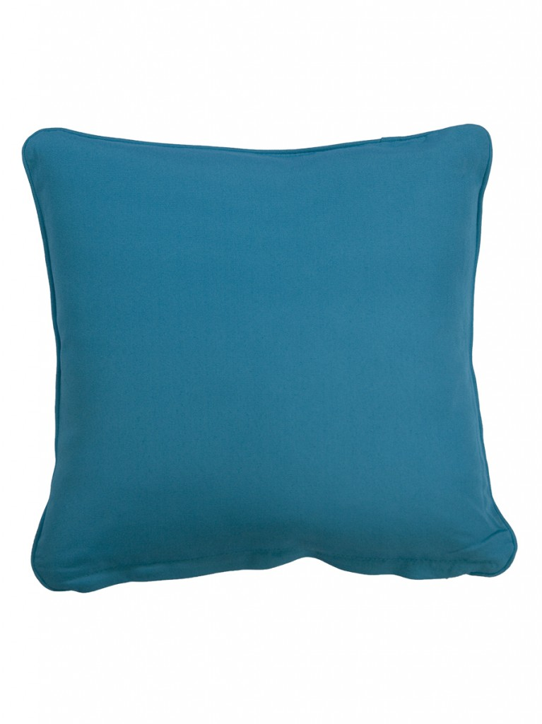 Cartenza Aqua Small Throw Cushion Embellish Imports