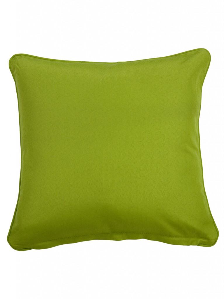 Cartenza Green Large Outdoor Throw Cushion Embellish Imports