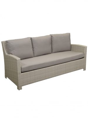 Casablanca Three Seat Wicker Outdoor Sofa