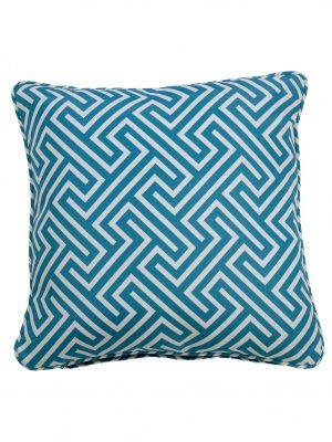 Negrill Aqua Throw Cushion