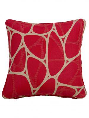 Parlee Red Throw Cushion