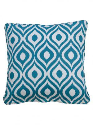 Pinamar Aqua Throw Cushion