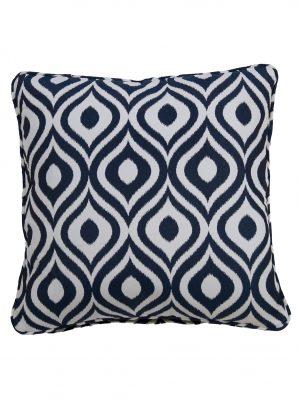 Pinamar Navy Throw Cushion