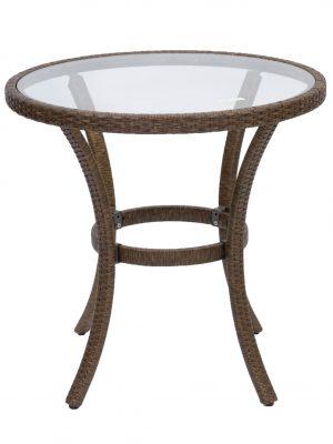 Villa Glass Top Table