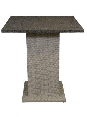 Villa Wicker Pedestal Table