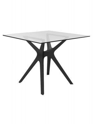 Vela Resin Glass Table Outdoor Scand