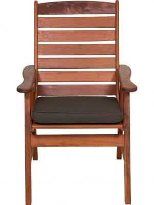 Liquorice Outdoor Seat Pad Chair cushion