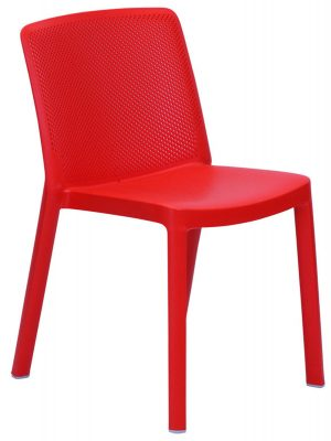 Fresh resin commercial dining chair cafe