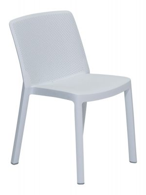 Fresh Resin chair white Cafe outdoor