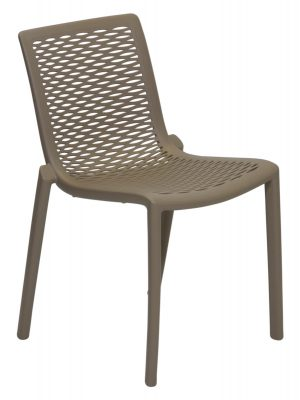 Netkat Resin Chair Sand Outdoor Cafe Chair