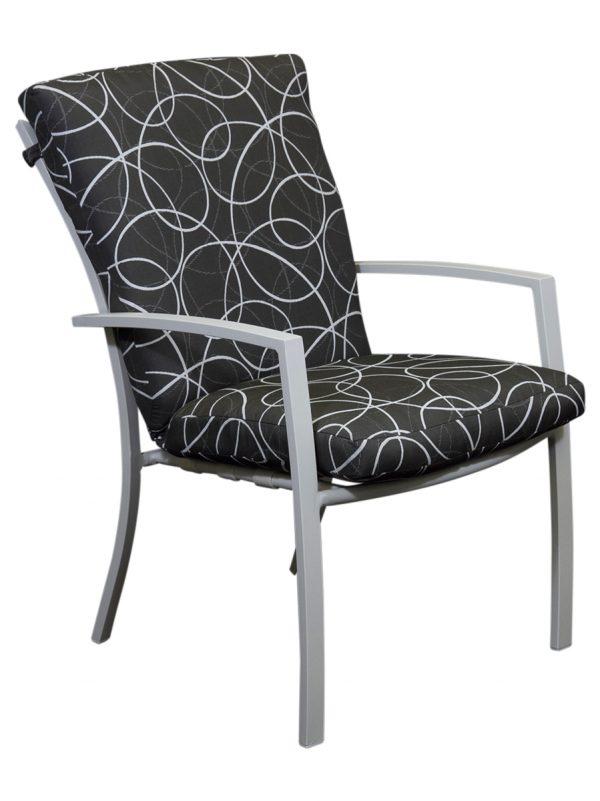 Malibu Outdoor Cushion Chair White