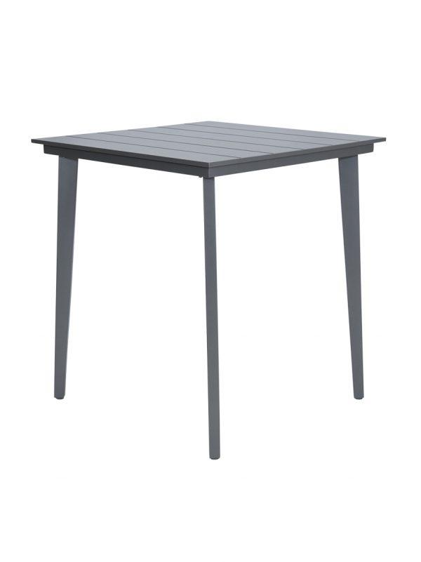 Aluminium outdoor bar table